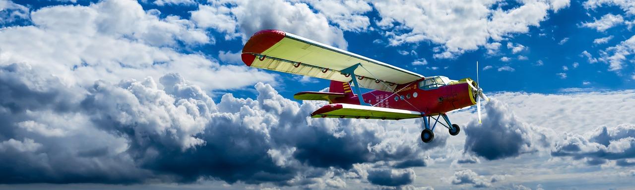 aircraft, propeller, wings